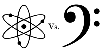 Science vs. Music: the CAGEMATCH